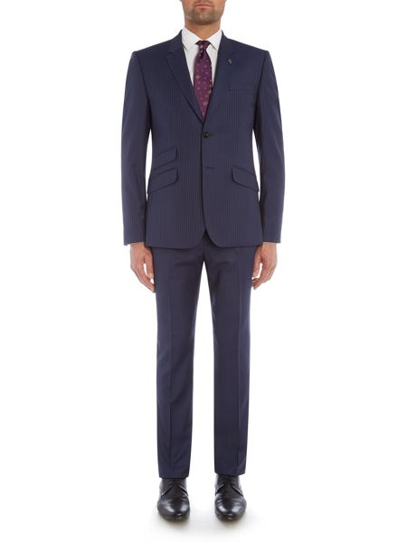 Ted Baker Carpes Slim Stripe Suit Jacket