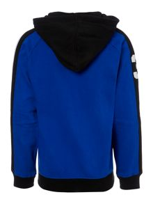 Boy`s Zip Through Hooded Sweater