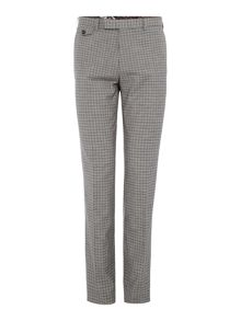 Ted Baker Tench Grey Check Suit Trousers