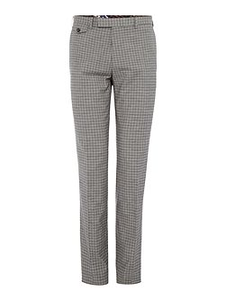Tench Grey Check Suit Trousers