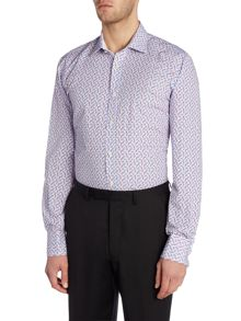 Ted Baker Qasim Triangles Print Shirt