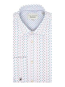 Ted Baker Oakes Multi Coloured Spots Shirt