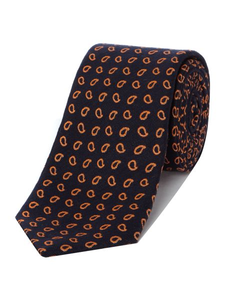 Ted Baker Droplet Mini Paisley Tie