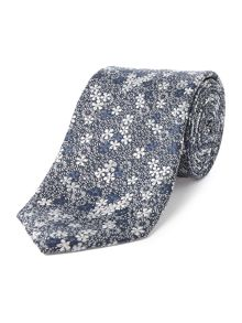 Ted Baker Budgie Floral Jacquard Tie