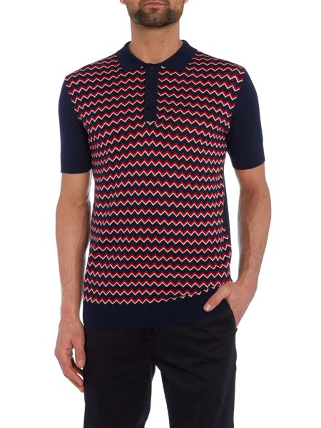 Merc Mens knitted polo