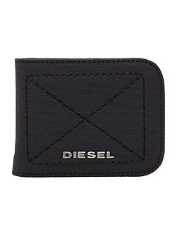 Rounded small bilfold wallet