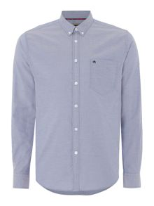 Merc Mens Long Sleeved Oxford Button Down Shirt