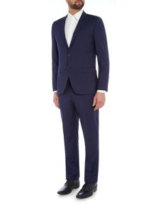 Hugo Arti/Heibo Slim Fit Fleck Suit