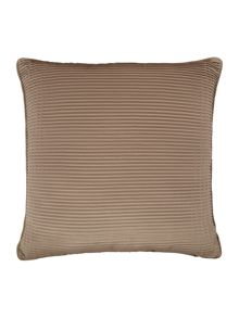 Satin pleat cushion, gold