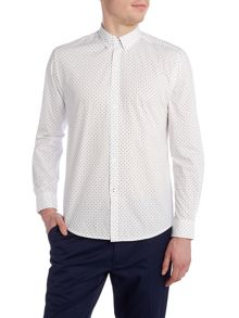 Merc Siegel polka dot shirt