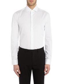 Calvin Klein Rome Fitted Dot Shirt