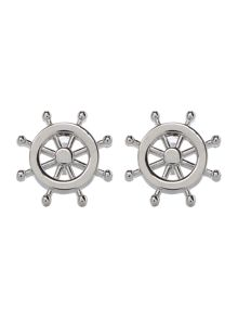 New & Lingwood Wheel Cufflink