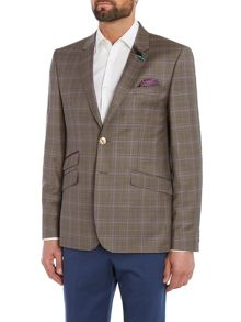 Ted Baker Shades Coloured Check Jacket