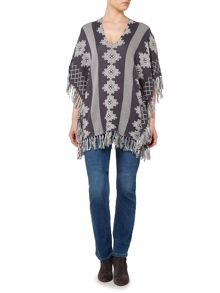 Linea Weekend Dakota hills knit poncho