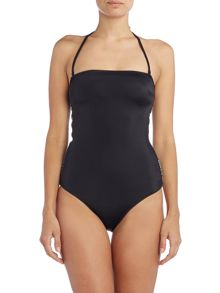 Calvin Klein Intense power bandeau one piece swimsuit
