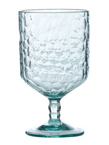 Linea Hammered Acrylic Wine Glass