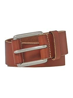 Leather Tab Jeans Belt