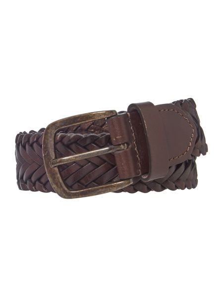 Howick Plaited Leather Belt