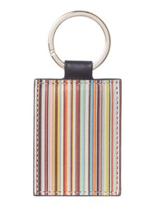 Paul smith multistripe key fob