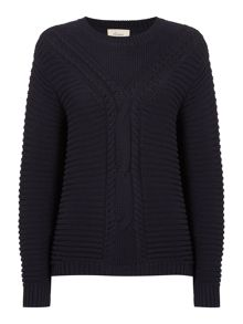 Dakota cable knit jumper