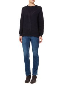 Linea Weekend Dakota cable knit jumper