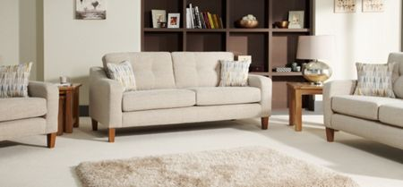 Linea Wallace 3 Seater High Back
