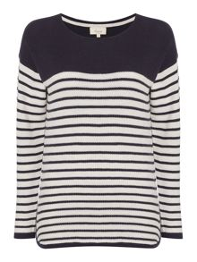 Linea Weekend Dakota asymetric knit jumper