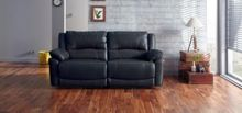 Linea Burton 3 Seater Manual Recliner Sofa