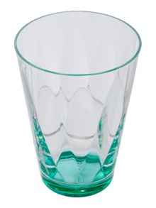 Linea Blue Colour Burst Acrylic Tumbler