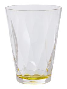 Linea Lime Colour Burst Acrylic Tumbler