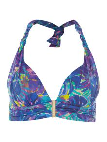 Biba Midnight Rainforest Twist Goddess Bikini Top