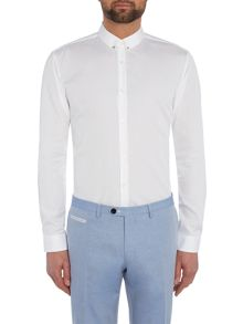 Hugo Ero Slim Eyelet Collar Shirt