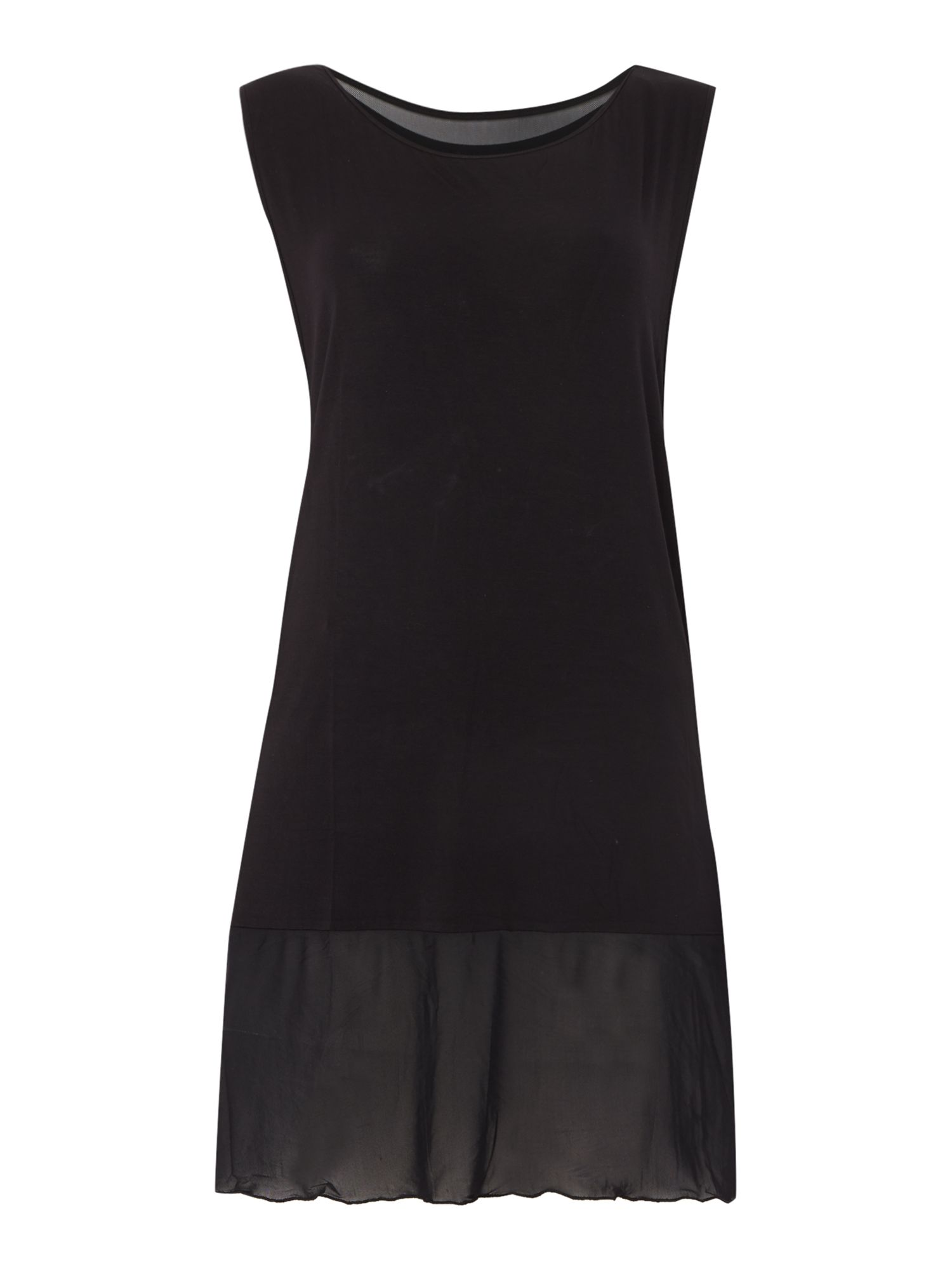 Freya Firestar jersey dress, Black