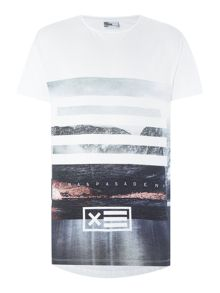 Nena and Pasadena Regular Fit Wave T Shirt