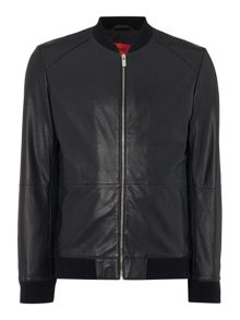 Hugo Loxen Leather Bomber