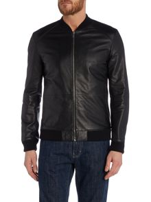 Loxen Leather Bomber