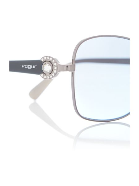 Vogue Gunmetal  butterfly  sunglasses VO3982SB
