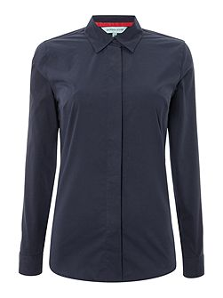 Bow Detail Tailored Shirt