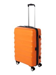Juno medium 4 wheel orange roller suitcase