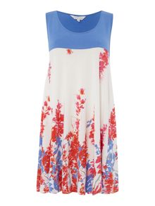 BRAINTREE Printed sleeveless tunic
