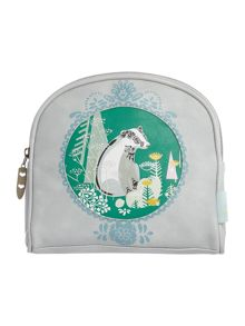 Disaster Nordikka multi coloured badger cosmetic bag