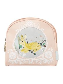 Disaster Nordikka multi coloured deer cosmetic bag