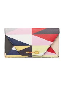 Disaster Dakota multi coloured arrow travel wallet