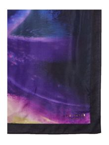 Ted Baker Tajara cosmic bloom split scarf