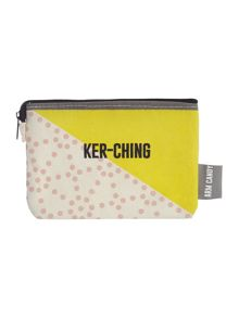 Arm Candy multi coloured kerr-ching coin purse