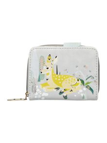 Disaster Nordikka multi coloured deer zip around purse
