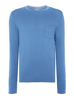 Krewo Slim Fit Silk Blend Knitted Jumper