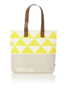 Arm Candy multi coloured carry me tote