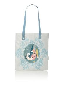 Nordikka multi coloured fox tote