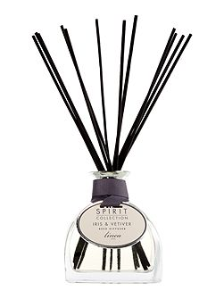 Iris & vetiver scented reed diffuser